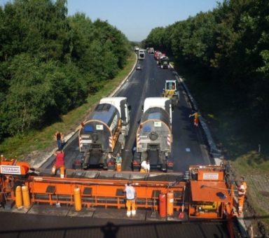 Autobahn (A) 7, Grundhafter Ausbau der Richtungsfahrbahn Hamburg