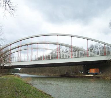 Lärmschutzwand an der Autobahn (A) 11 bei Finowfurt