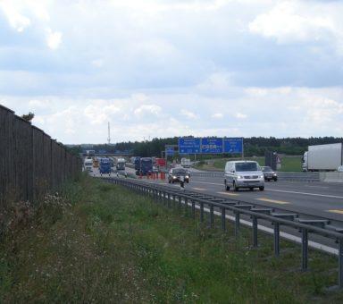 Autobahn (A) 4/(A) 9, Umbau des Autobahnkreuzes (AK) Hermsdorfer Kreuz, Digitales Geländemodell (DGM)