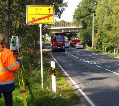 Staatsstraße (S) 36, Verlegung westlich Wilsdruff, Entwurfsvermessung