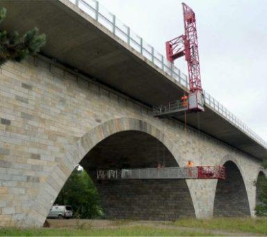 Bauwerksprüfungen an Bauwerken der Autobahn (A) 72 – Süd