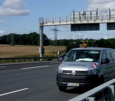 Autobahn (A) 5/(A) 66 -Westkreuz Frankfurt a.M., Vermessung und Konsolidierung von Bestandsdaten für die Erstellung von Projektgrundlagen