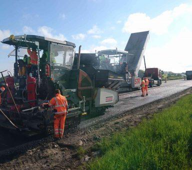 Autobahn (A) 4 – AS Uhyst a.T. – AS Salzenforst – Fahrbahnerneuerung