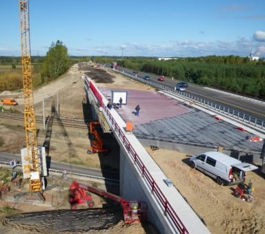 Autobahn (A) 10, Autobahndreieck (AD) Werder – Autobahndreieck (AD) Havelland, Ersatzneubau Bauwerk (BW) 73 und Rampenanpassung