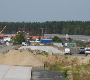 Ausbau der Tank- und Rastanlage Michendorf an der Autobahn (A) 10