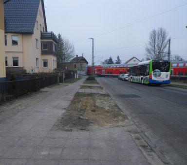 Werder (Havel) – BÜB (Bahnübergangsbeseitigung), Erweiterte Baugrundvorerkundung für Tunnelbauwerke