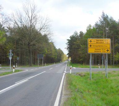Bundesstraße (B) 97 – Großgrabe – Ausbau mit Knotenpunkt S 93 und Radweg