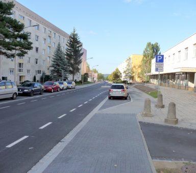 Kreisstraße (K) 8017 – Coswig – Moritzburger Straße – Ausbau