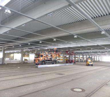 Dresden – Ausbau Betriebshof Trachenberge der Dresdner Verkehrsbetriebe – SiGeKo