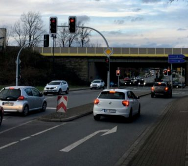 A 40 – Verkehrsführung während der Bauzeit