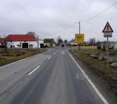 S 100 – Ortsdurchfahrt Siebitz