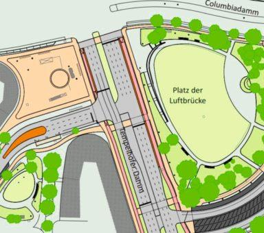 Berlin – Platz der Luftbrücke – Fortschreibungsstudie