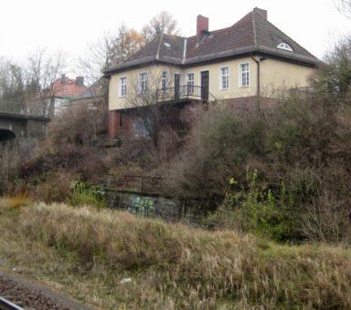 Frankfurt (Oder) – Brücke am Bhf Rosengarten über die Anlagen der DB AG